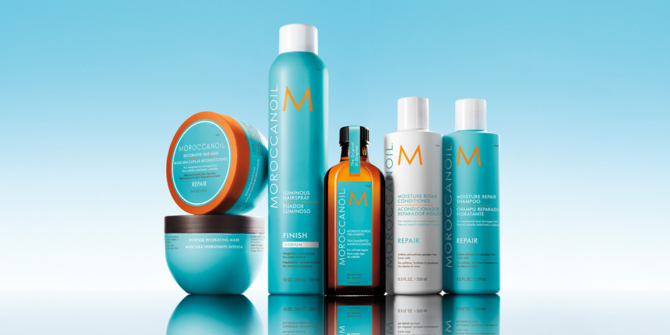 moroccanoil group shot